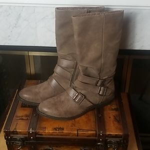 BLOWFISH STRAPPY BOOTS